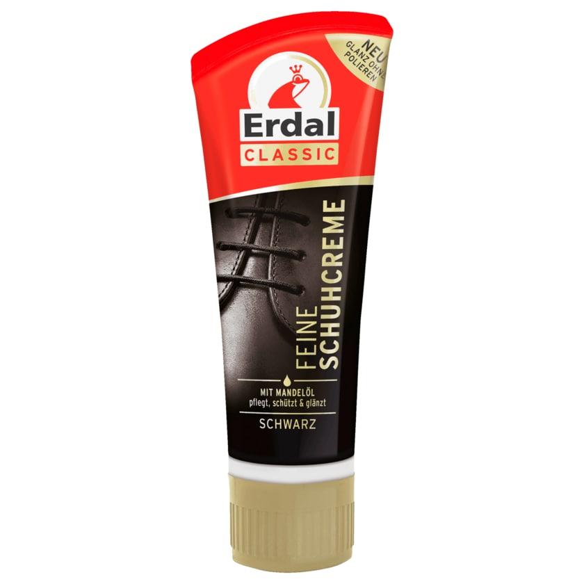 Erdal Classic Feine Schuhcreme Schwarz 75 ml