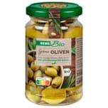REWE Bio Grüne Oliven 180g