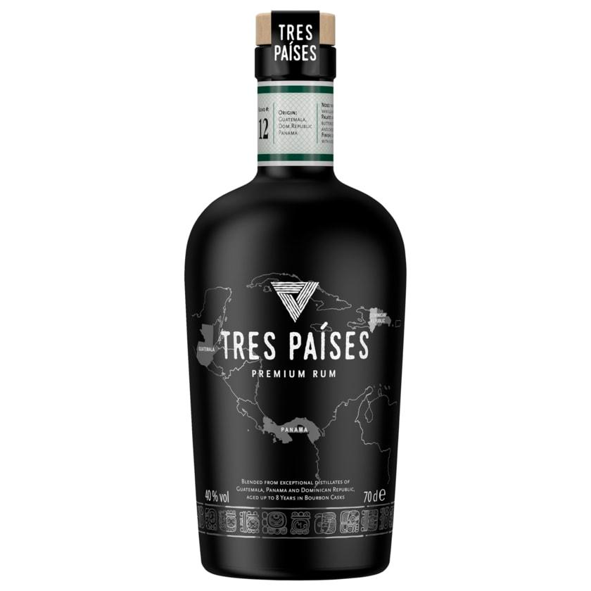Tres Paises Premium Rum 40% vol. 0,7l