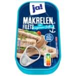 ja! Makrelen-Filets im eigenen Saft MSC 125g