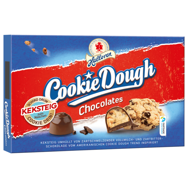 Halloren Cookie Dough Chocolates 150g