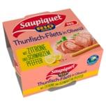 Saupiquet Thunfisch-Filets in Olivenöl mit Zitrone und schwarzem Pfeffer 130g