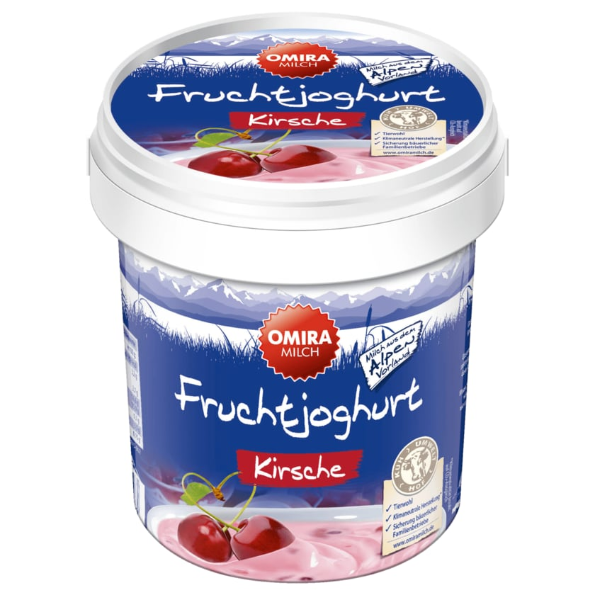 Omira Milch Fruchtjoghurt Kirsche 1kg