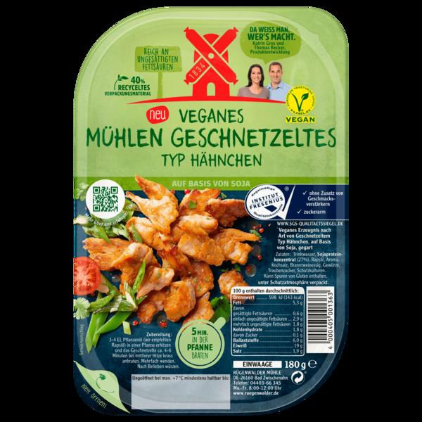 Veganes Mühlen Geschnetzeltes Typ Hähnchen 180g