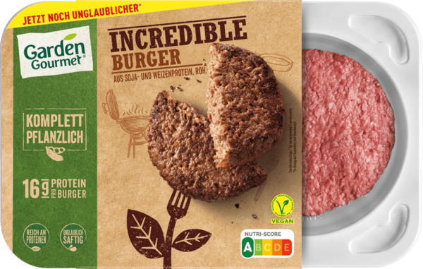 Garden Gourmet Incredible Burger 226g
