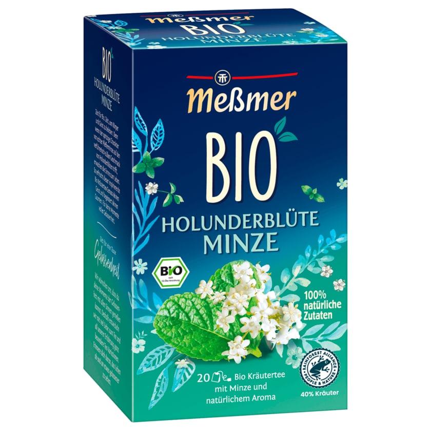 Meßmer Bio Holunderblüte Minze 20x2g, 40g
