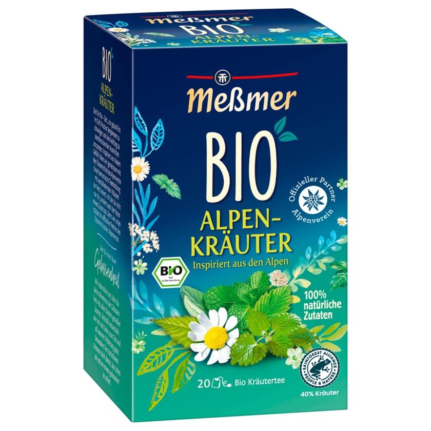 Meßmer Bio Alpenkräuter 40g, 20 Beutel