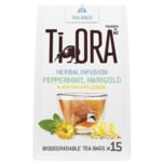 Ti Ora Herbal Infusion Peppermint Marigold New Zealand Lemon 27g