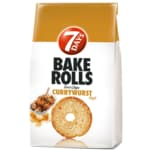 7 DAYS Bake Rolls Brot Chips Currywurst Style 250g