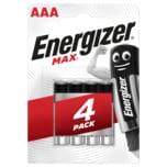 Energizer Max Micro-Batterien AAA 4 Stück