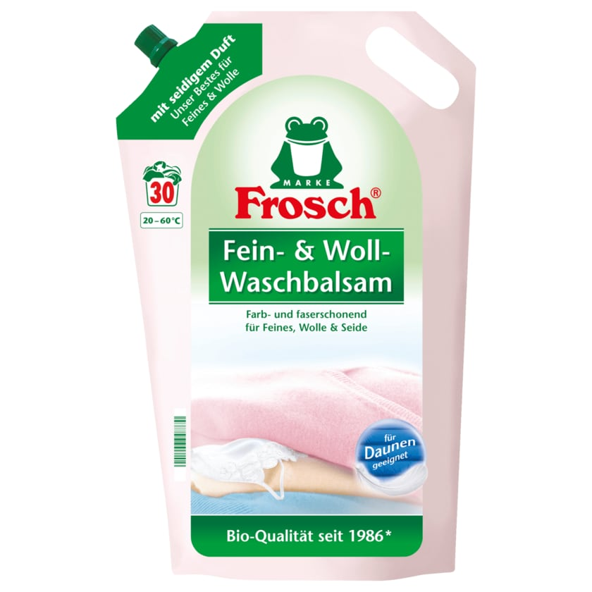 Frosch Fein- und Woll-Waschbalsam 1,8 L