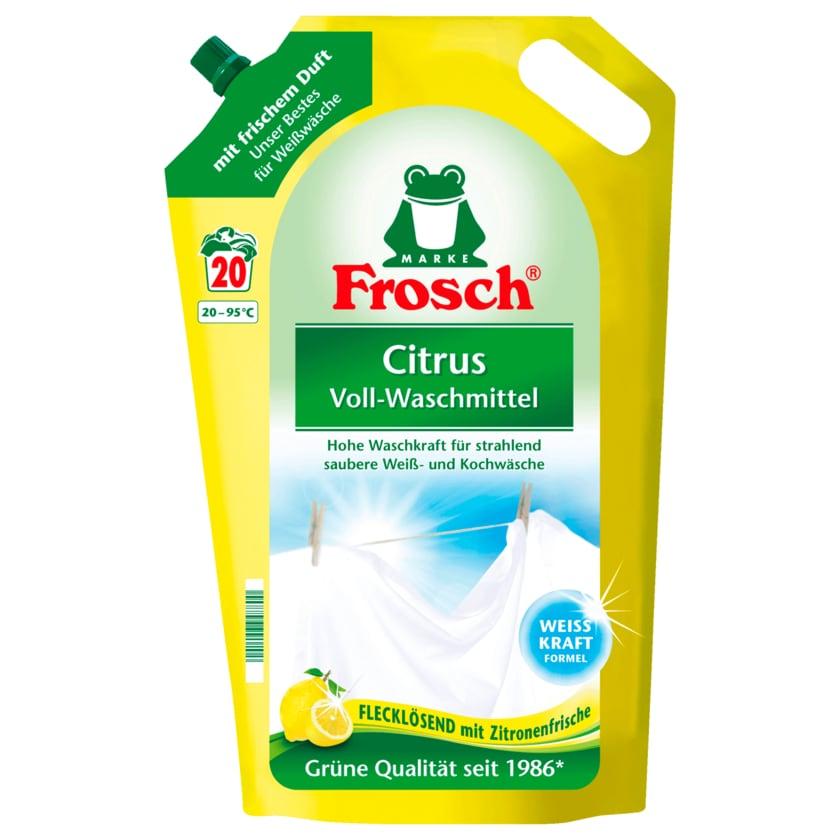 Frosch Citrus Voll-Waschmittel 1,8l 20WL