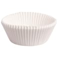 Backförmchen Muffin/Cupcakes 50x25mm 100 Stück weiß