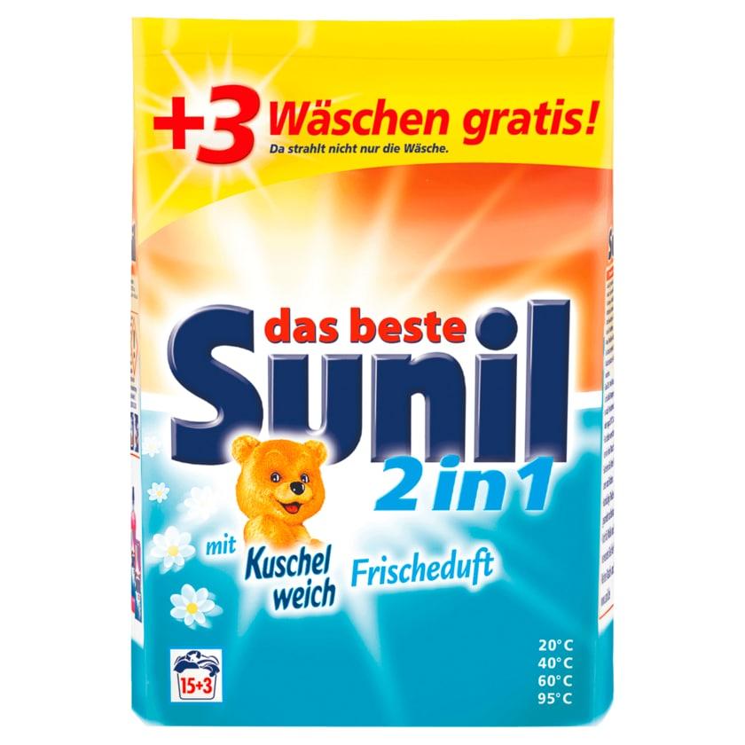 Sunil 2in1 Frischeduft 1,22kg, 18 WL