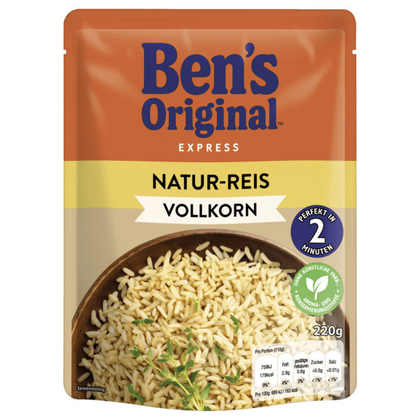 Uncle Ben's Express Natur-Reis 220g