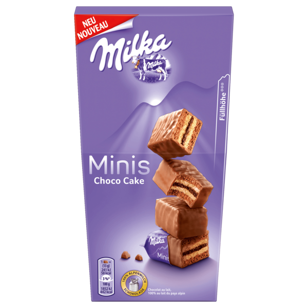 Milka Minis Choco Cake 117g