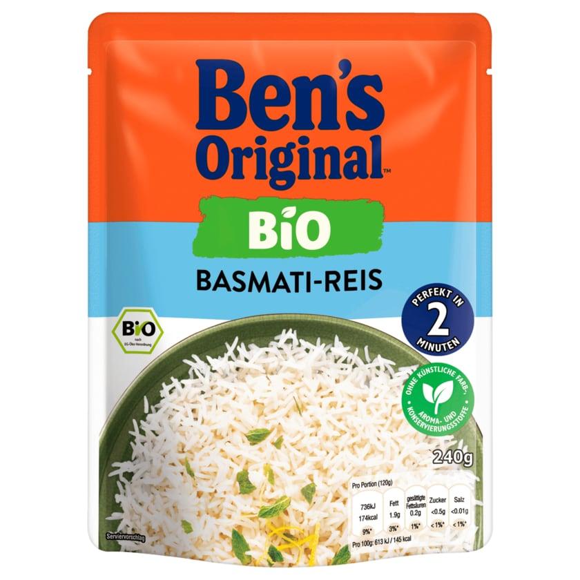 Ben's Original Express Bio Basmati-Reis 240g