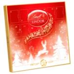 Lindt Lindor Frohes Fest Mini-Adventskalender 109g