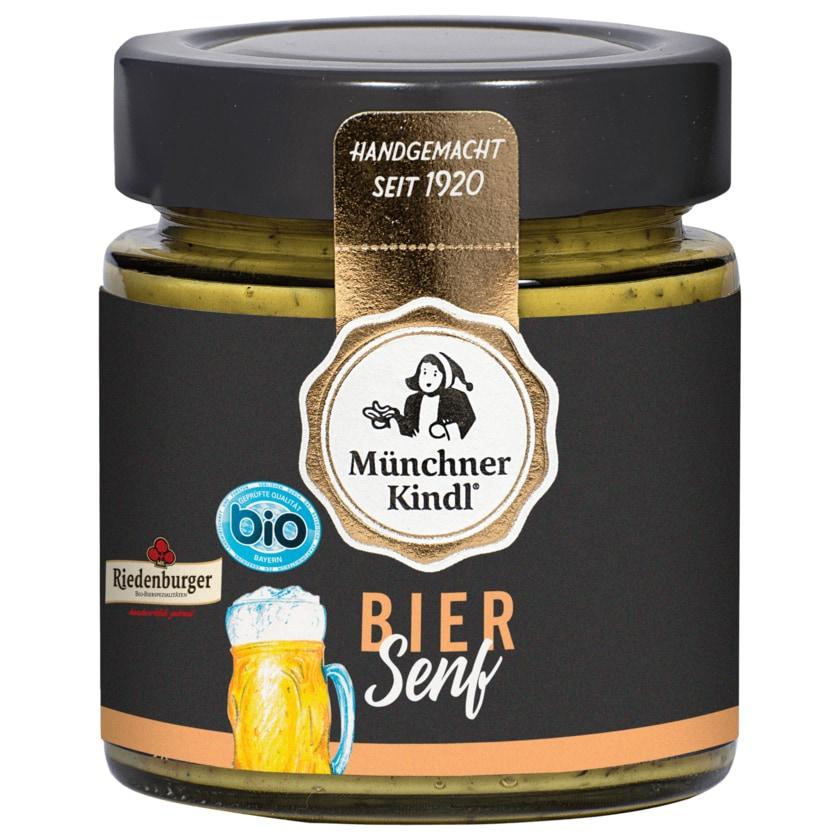 Münchner Kindl Bio Bier Senf 125ml
