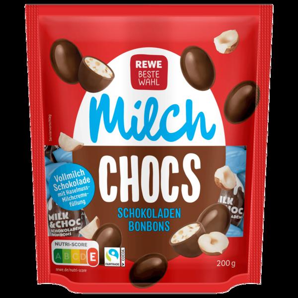REWE Beste Wahl Milk & Choc Schokoladenbonbons 200g