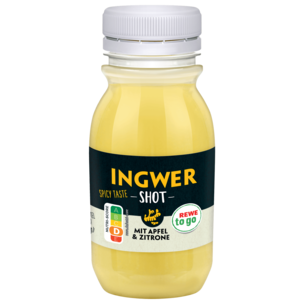 REWE to go Ingwer Shot Apfel & Zitrone 125ml
