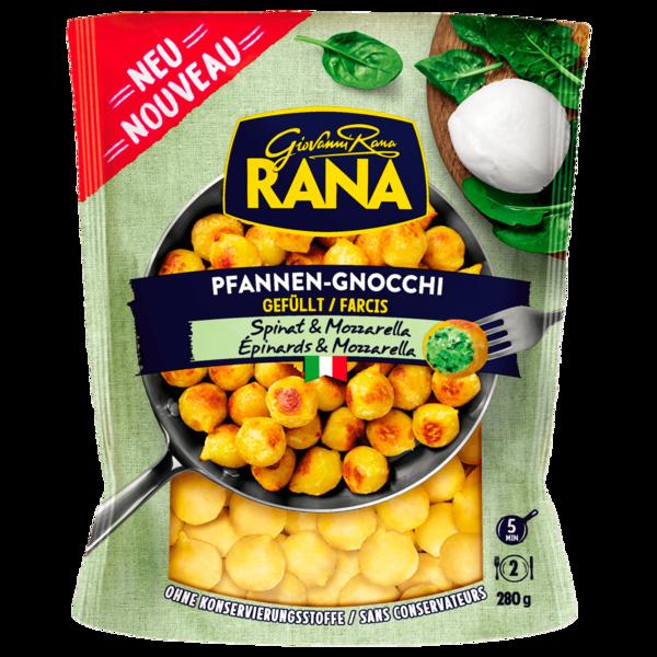 Rana Gefüllte Pfannen Gnocchi Spinat & Mozzarella 280g