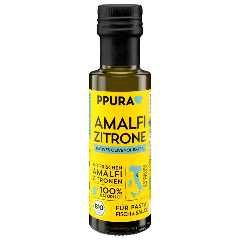 Ppura Amalfi Zitrone Natives Bio Olivenöl 100ml