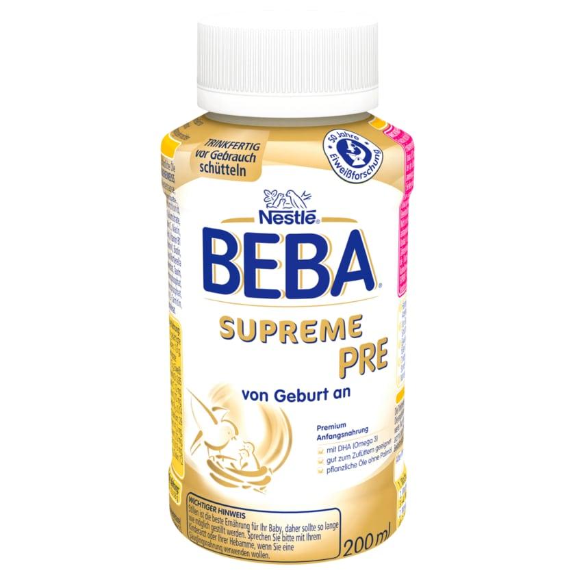 Nestle Beba Anfangsnahrung Supreme Pre 200ml