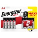 Energizer Max Mignon-Batterien AA 8 Stück