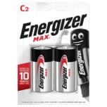 Energizer Max Baby-Batterien C 2 Stück
