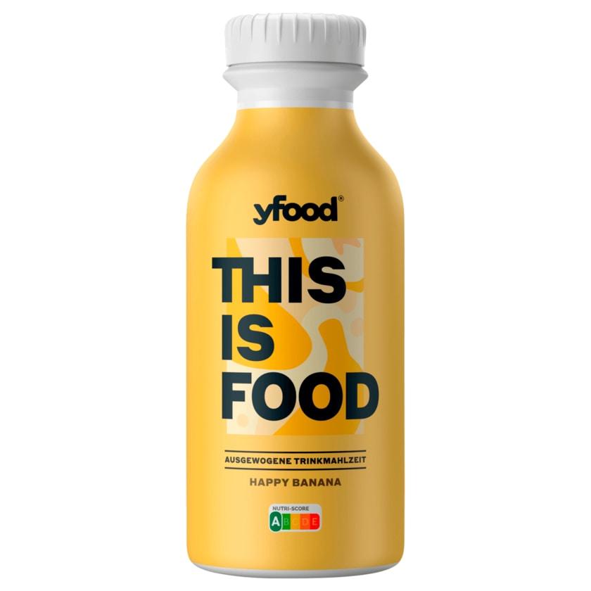 YFood Trinkmahlzeit Happy Banana 500ml