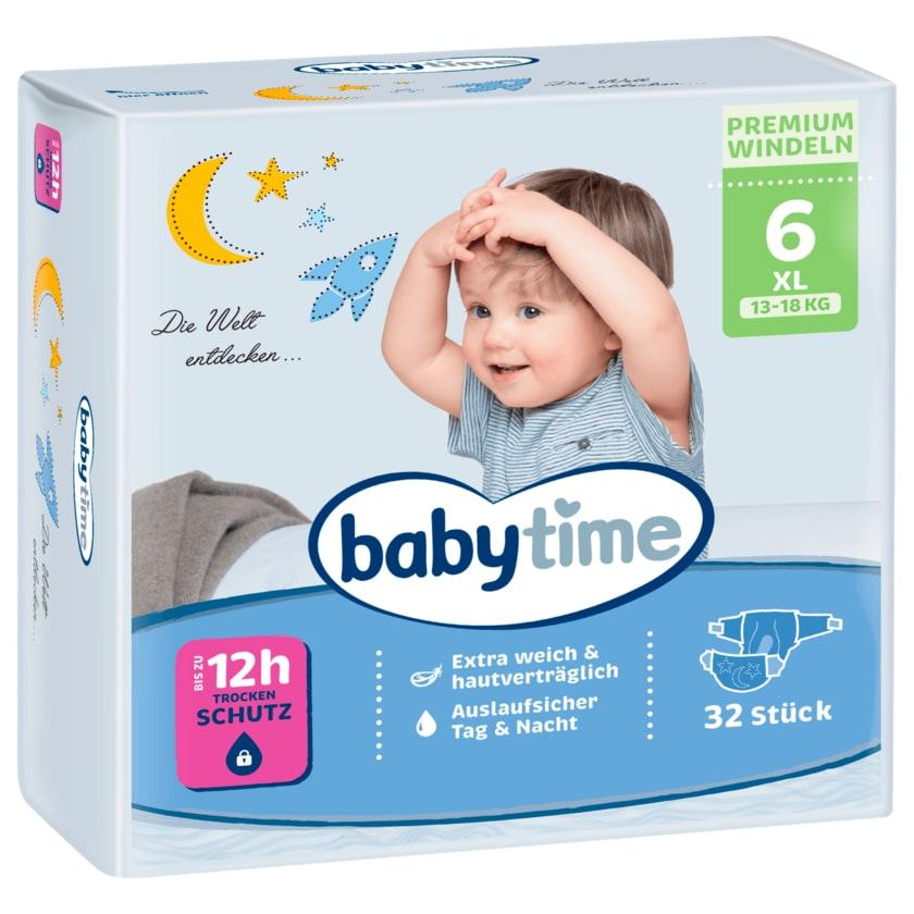 Babytime Windeln Gr. 6 16-30kg 32 Stück