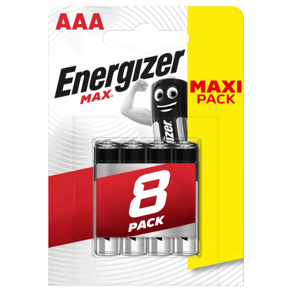 Energizer Max Micro-Batterien AAA 8 Stück