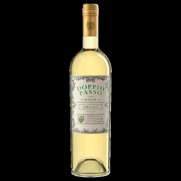 Doppio Passo Grillo Weißwein DOC 0,75l