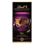 Lindt Schokolade Edelbitter Mousse Pflaume-Rum 70% Cacao 150g