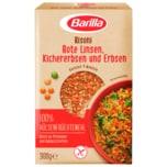 Barilla Risoni Rote Linsen, Kichererbsen und Erbsen 300g