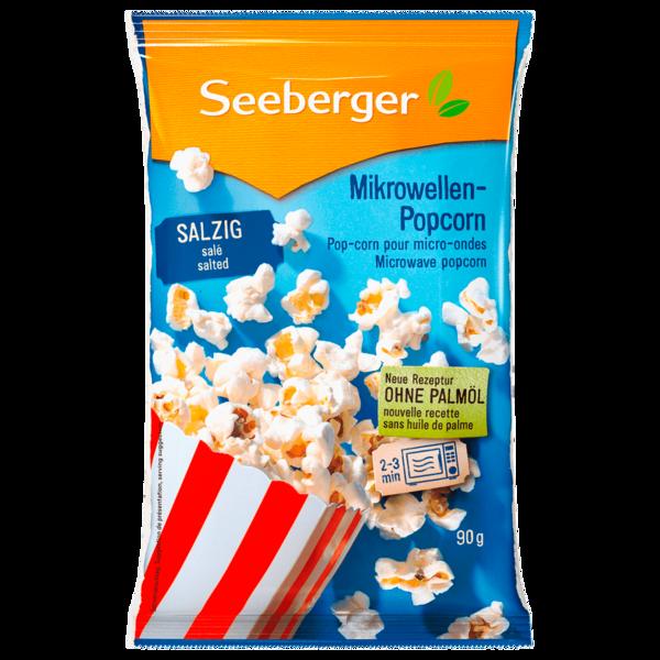 Seeberger Mikrowellen Popcorn Salzig 90g