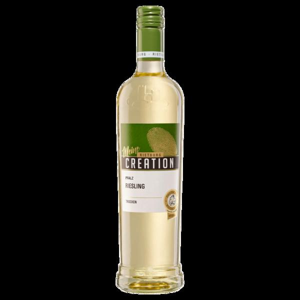 Rietburg Weißwein Creation Riesling QbA trocken 0,75l