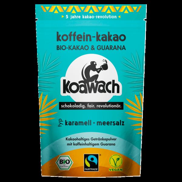 Koawach Bio Koffein-Kakao Karamell + Meersalz 100g