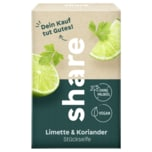 Share Stückseife Limette & Koriander 100g