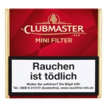 Clubmaster Mini Filter Red 20 Stück