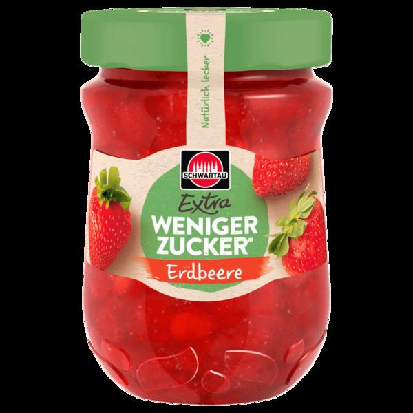 Schwartau Weniger Zucker Erdbeere 300g