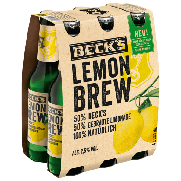 Becks's Lemon Brew 6x0,33l