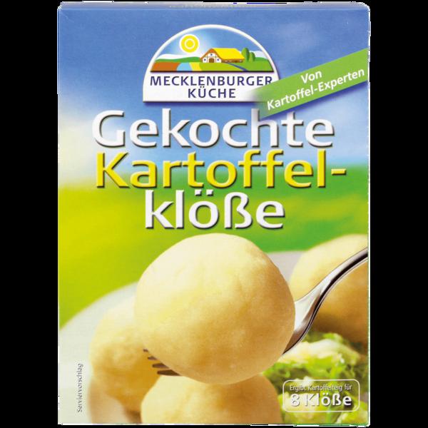 Mecklenburger Küche gekochte Kartoffelklöße 8 Stück