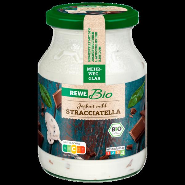 REWE Bio Joghurt mild mit Stracciatella 500g