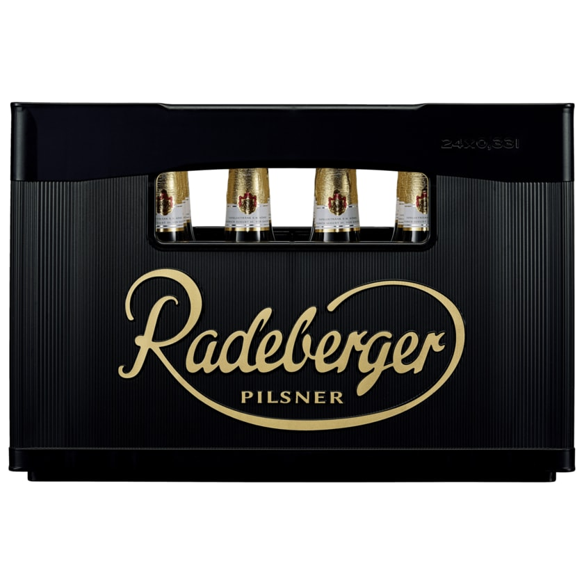 Radeberger Pilsner 24x0,33l