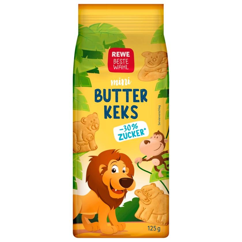 REWE Beste Wahl Butterkeks mini 125g