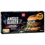 REWE Beste Wahl Angus Burger 300g, 2 Patties