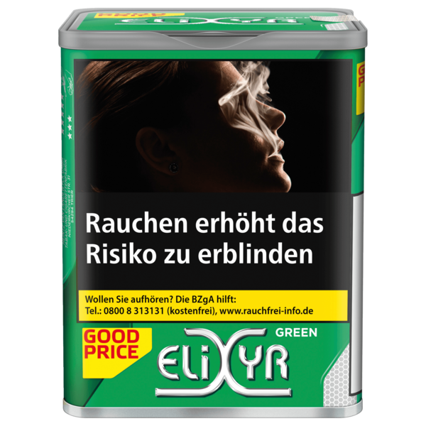 Elixyr Green Tobacco 110g