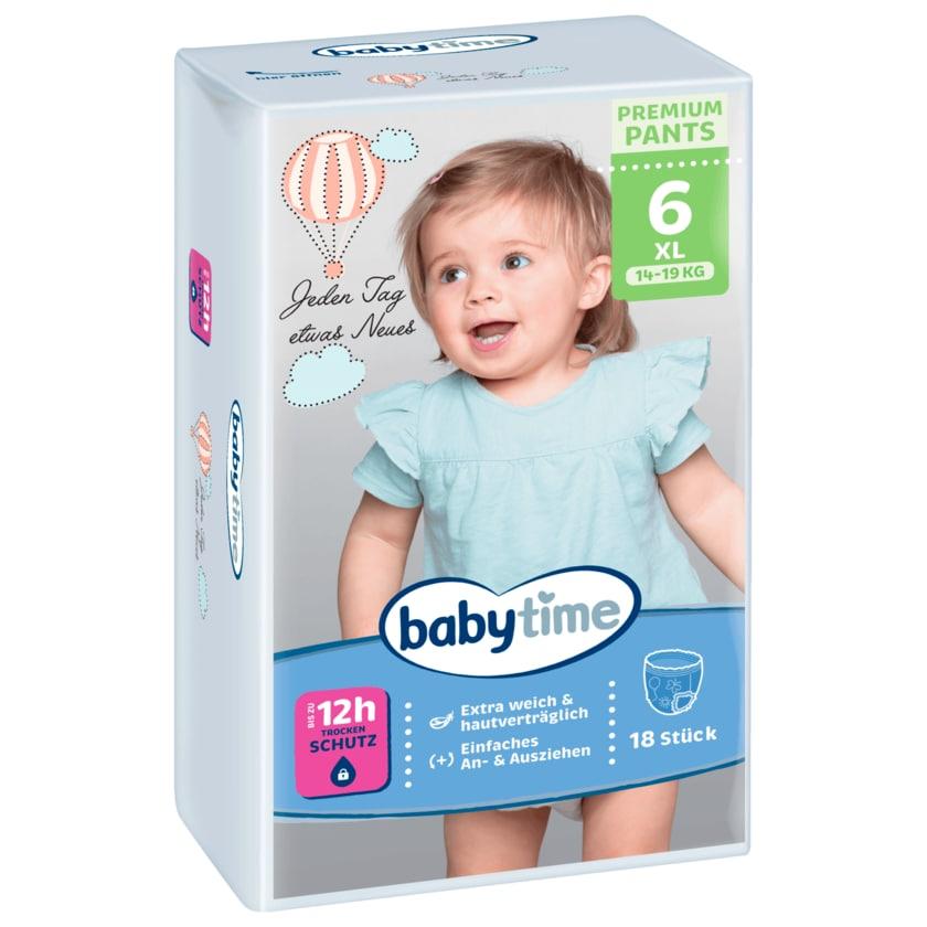 Babytime Pants Gr.6 16-30kg 18 Stück